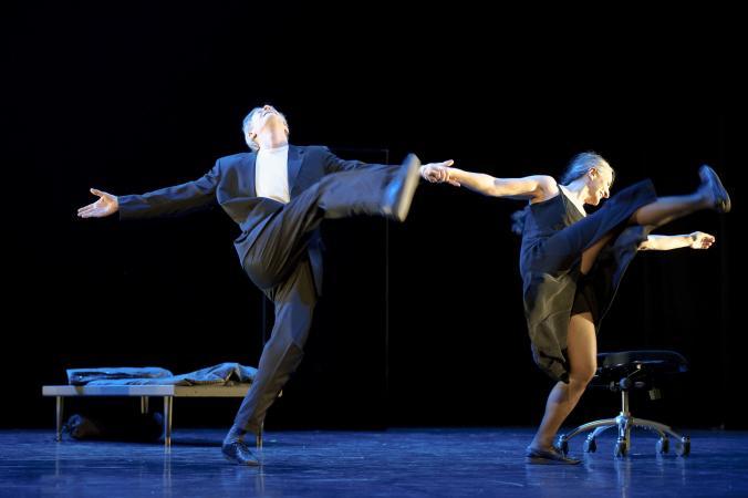Mats Ek och Anna Laguna dansar tillsammans